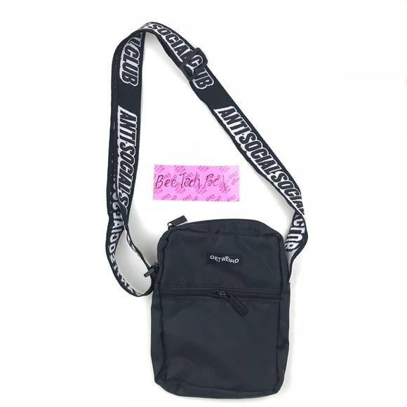 7ced1ce52eea Anti Social Social Club Pink Side Bag ASSC